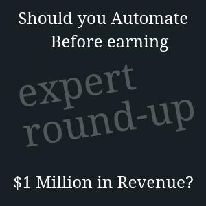 automate before 1 million?